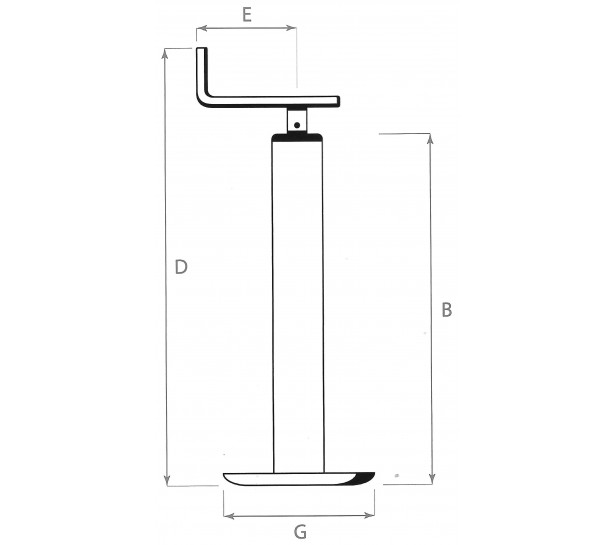 PARKING  JACK WITH BEARING