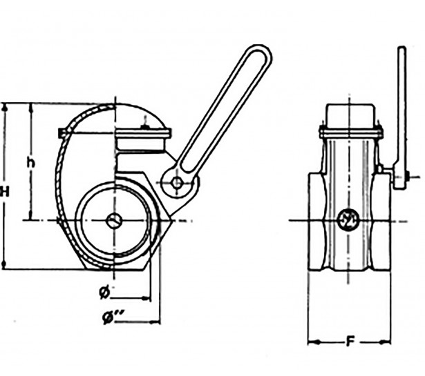 GATE VALVES WITH THREADED...