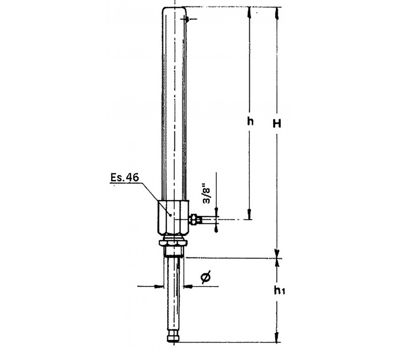 hydraulic cylinders for gate valve with gas return